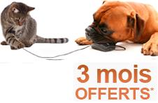 3 mois offerts selfassurances animaux